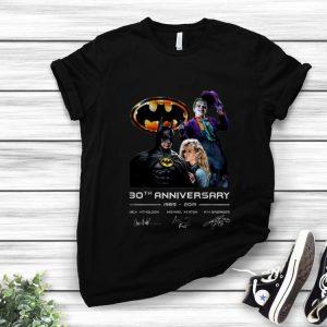 Awesome 30th Anniversary 1989-2019 Jack Nicholson Michael Keaton Kim Basinger Signature Version shirt