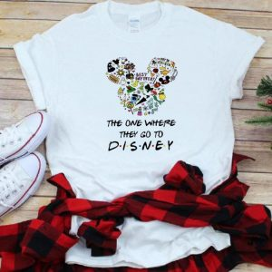 Awesome Disney Mickey The One Where they Go To shirt