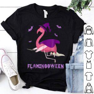 Awesome Flamingoween Funny Flamingo Halloween shirt