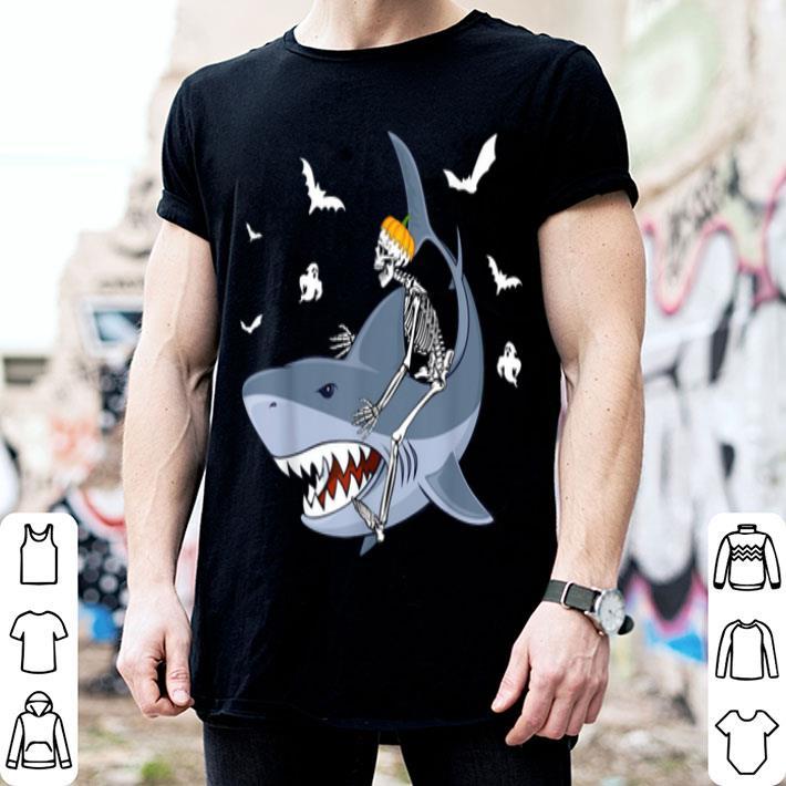 Fish Skeleton Halloween Kids T-Shirt