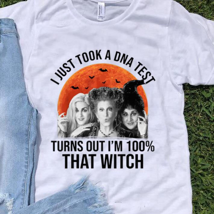 Awesome Hocus Pocus I Just Took A DNA Test Turns Out I m 100 That Witch shirt 1 - Awesome Hocus Pocus I Just Took A DNA Test Turns Out I'm 100% That Witch shirt