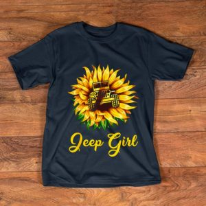 Awesome Sunflower Jeep Girl shirt