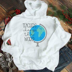 Awesome Teachers Change the World shirt