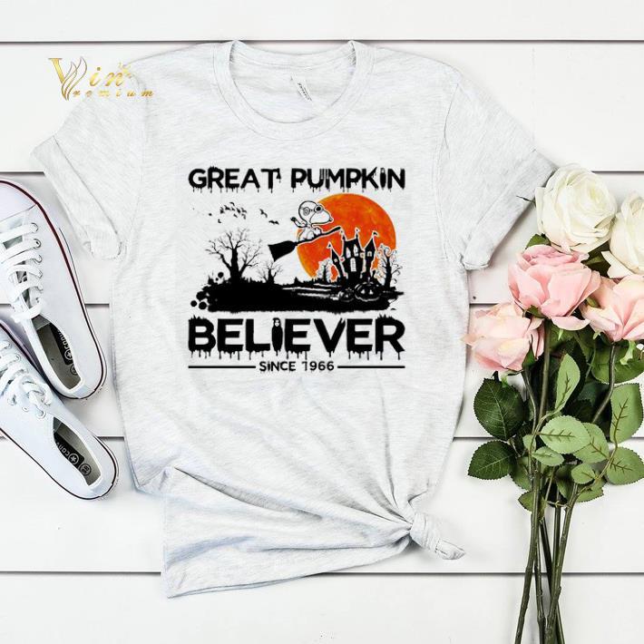 Halloween Snoopy Great pumpkin believer since 1966 shirt 4 - Halloween Snoopy Great pumpkin believer since 1966 shirt
