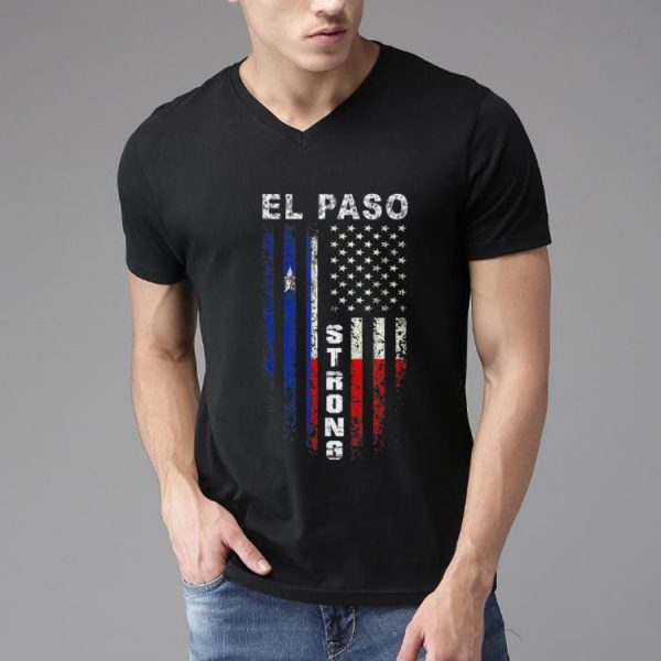 Hot American Flag El Paso Strong shirt