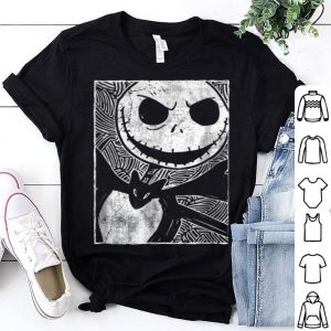 Hot Disney The Nightmare Before Christmas Jack Sketch shirt