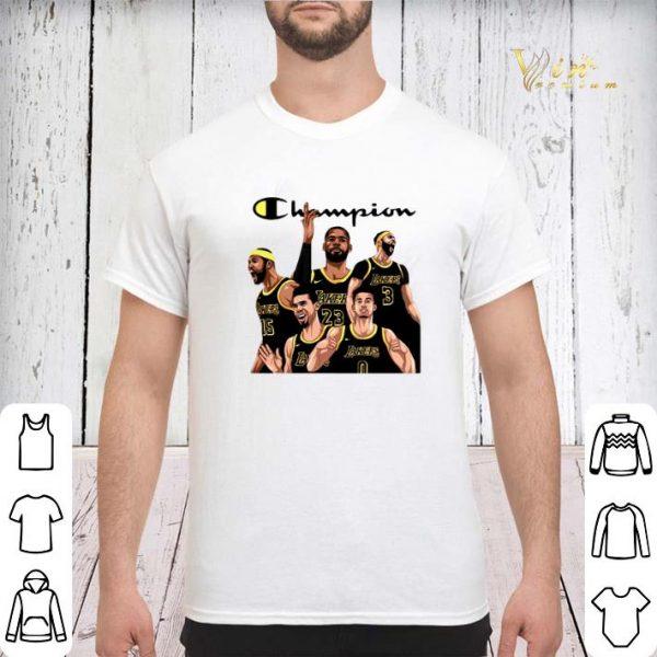 Los Angeles Lakers Champion Squad shirt