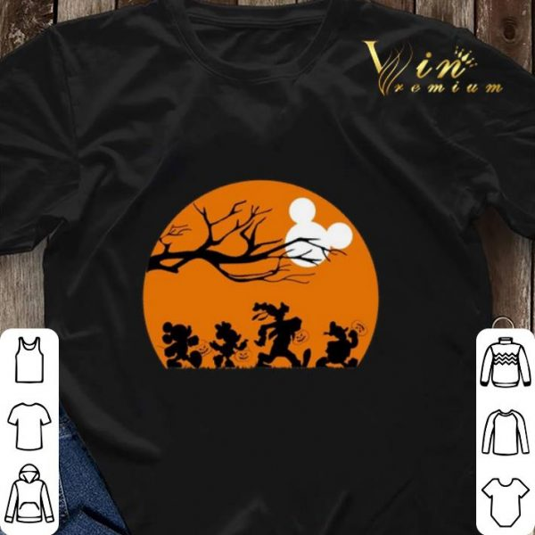 Mickey Mouse Disney Characters Trick Or Treat shirt