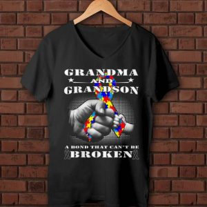 Nice Grandma And grandson A Bond That Can't Be Broken shirt