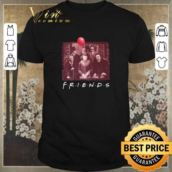 Nice Jigsaw Friends TV Show Horror movie characters shirt sweater