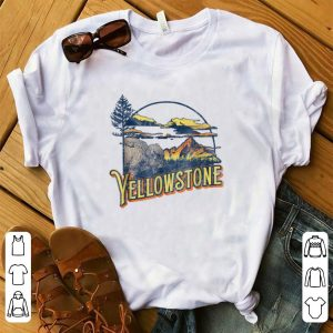 Nice Vintage Yellowstone National Park Retro shirt