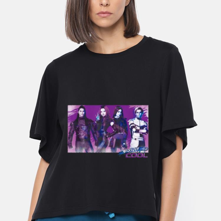 Official Carlos Mal Jay Evie Wickedly Cool Descendants 3 shirt, hoodie,  sweater, longsleeve t-shirt