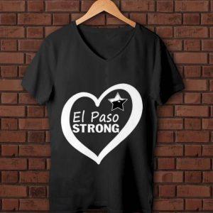 Official El Paso Strong Star Heart shirt