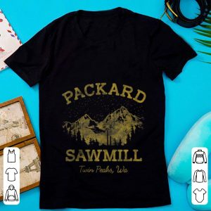 Official Packard Sawmill Twin Peaks Wa shirt