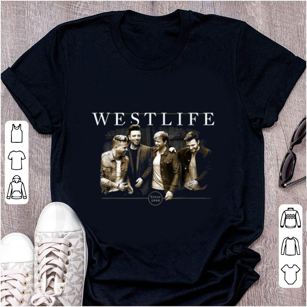 Official Westlife Official Since 1999 shirt 1 - Official Westlife Official Since 1999 shirt