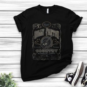Original Dolly Parton Country Whiskey Label shirt