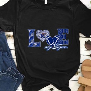 Original Memphis Tigers Love Football shirt