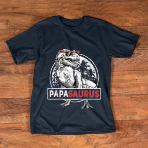 Original T rex Papa Saurus Dinosaur Sunglass shirt