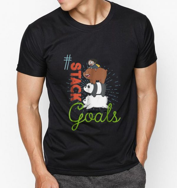 Premium CN We Bare Bears This My Squad Patch shirt