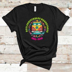 Premium Woodstocks 50th Anniversary Peace Bus 1969 2019 shirt