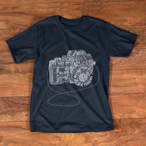 Pretty Camera Amazing Anatomy Typography shirt