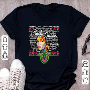 Pretty Dashiki Black Queen History Melanin shirt