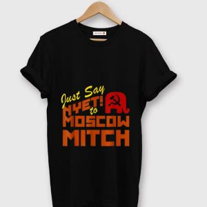 Pretty Just Say Nyet To Moscow Mitch Communist Party of Great Britain shirt