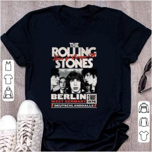 Pretty The Rolling Stones Tour Of Europe 76 Berlin shirt
