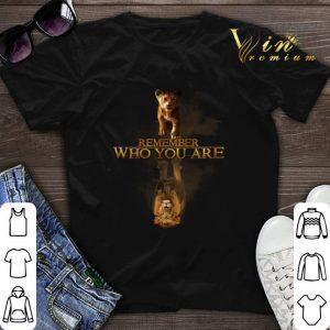Remember who you are Simba reflection Mufasa shirt sweater