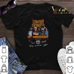 Signatures Lynyrd Skynyrd 55th anniversary 1964-2019 shirt