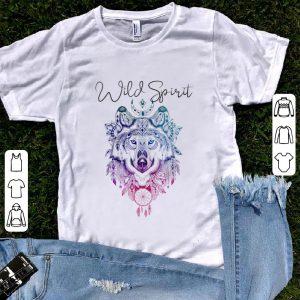 Top Boho Chic Wild Spirit Wolf Gypsy shirt