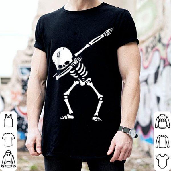 Top Cute Dabbing Skeleton Halloween Costume Gifts Idea shirt