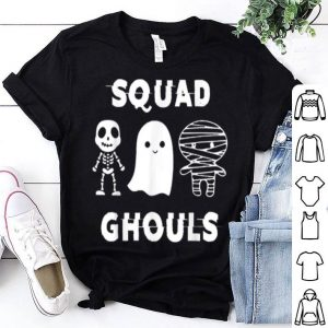 Top Cute Squad Ghouls Skeleton Mummy Funny Halloween shirt