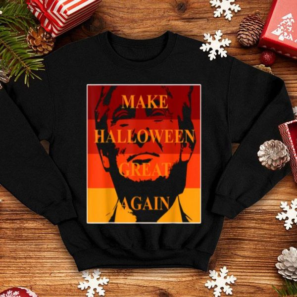 Top Trumpkin - Make Halloween Great Again, Halloween Trump shirt