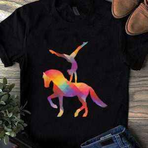 Top Vaulting On The Horse Equestrian Sport Vaulting Queen shirt