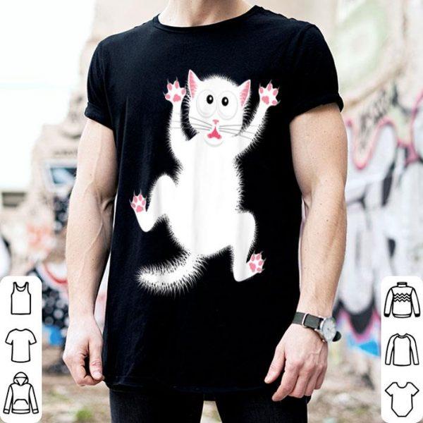 Awesome Cartoon Cat Women's Men's Hilarious Halloween Graphic shirt