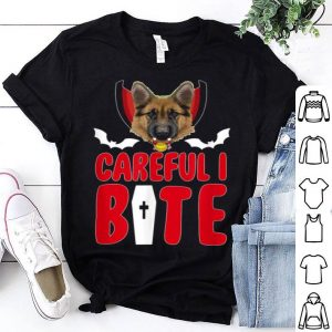 Awesome Halloween Vampire Shepherds Funny Careful I Bite shirt