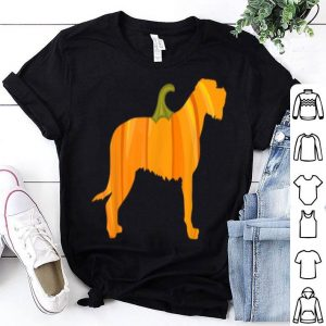 Awesome Irish Wolfhound Halloween Dog Pumpkin Women Owners Gifts shirt
