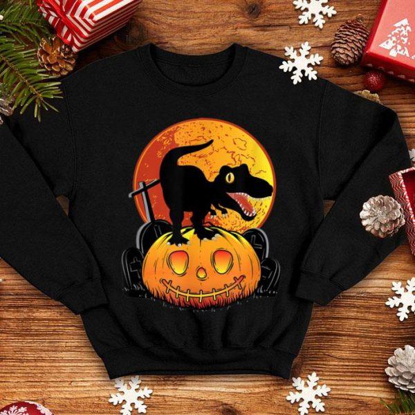 Beautiful Halloween Pumpkin Dinosaur Trex Spooky shirt