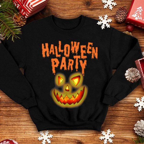 Beautiful Happy Halloween Pumpkin Face Cartoon Funny shirt