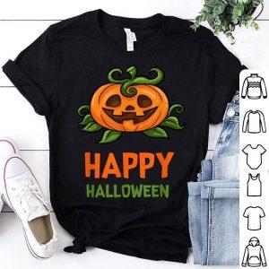 Beautiful Happy Halloween With Pumpkin shirt