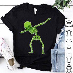 Dabbing Skeleton Halloween Funny shirt