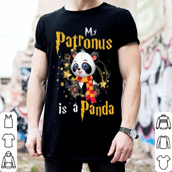Funny My Patronus Is A Panda Halloween And Christmas shirt