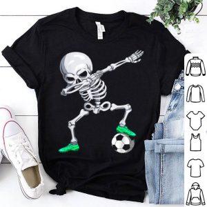 Halloween Dabbing Skeleton Apparel, Soccer Player Dab Boys shirt