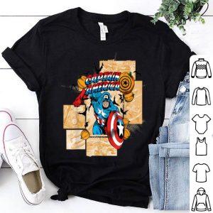 Hot Marvel Captain America Halloween Comic Panel Retro shirt