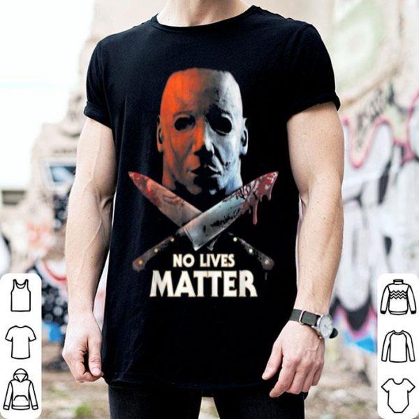 Hot Spooky No Lives Matter Serial Killer Halloween Horror Gift shirt