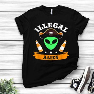 Illegal Alien Funny Halloween Party Costume shirt