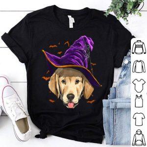 Labrador Retriever Witch Funny Halloween Dog Lover shirt