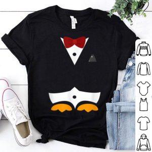 Nice Penguin Tuxedo Halloween Costume Fish In Pocket shirt