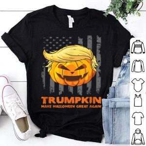 Nice Trumpkin Make Halloween Great Again Funny Halloween shirt